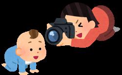 最近、ママさん(女性)カメラマンが増えています